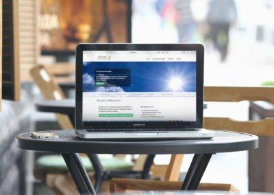 WordPress-Website – Alvalog GmbH