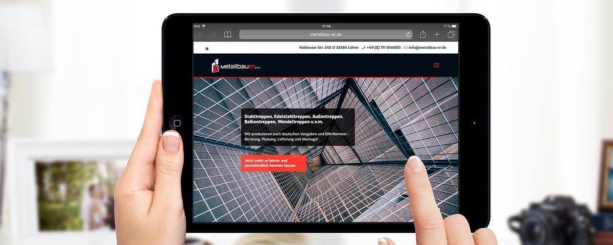 GravitationDesign - Referenz: Redesign der Webdesign