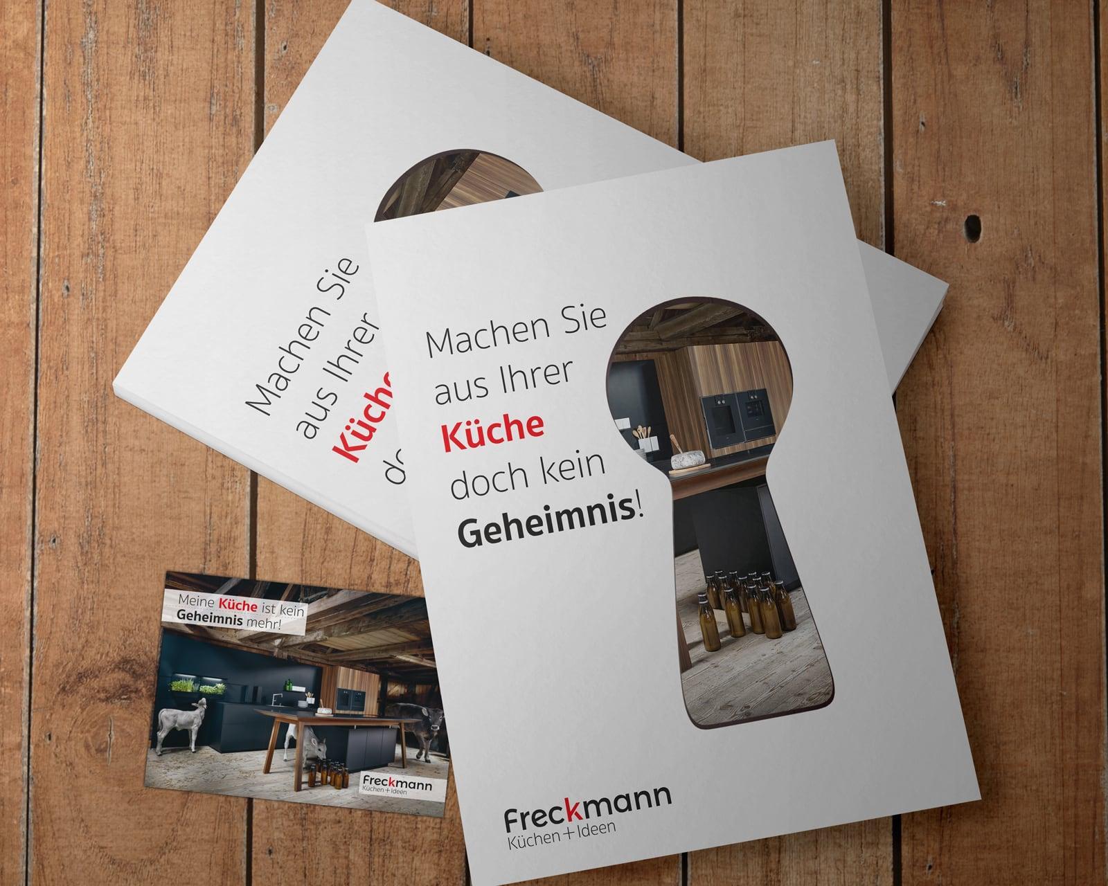 Referenz Gutscheinkarte – Küchen Freckmann