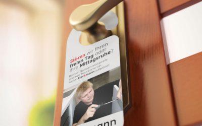 Ein neuer Türaufhänger für die Firma Küchen Freckmann aus Bad Essen