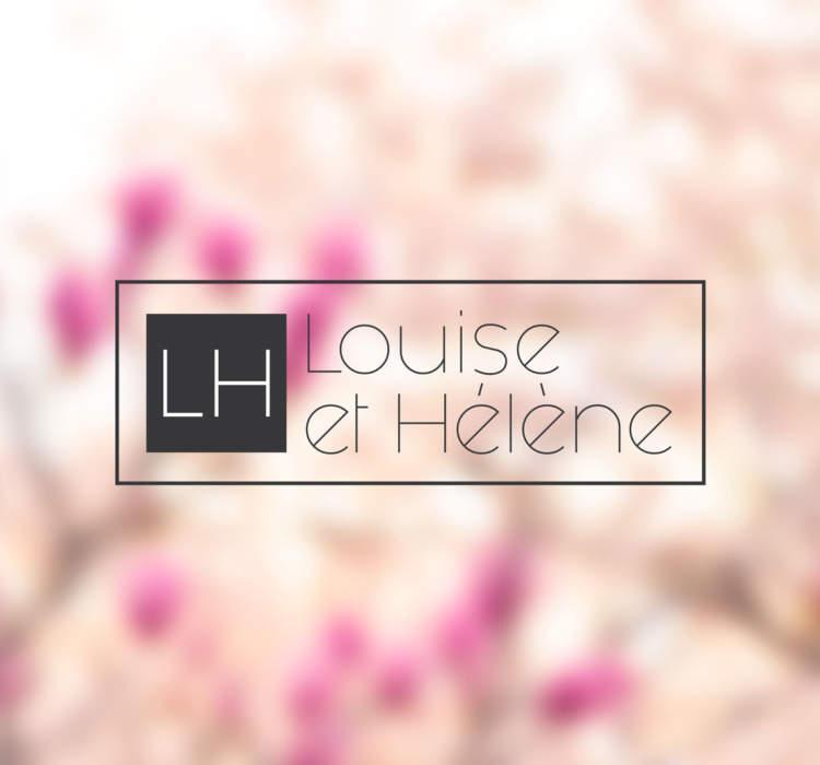 Logo-Design Louise et Hélène
