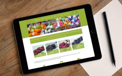 Pflanzengefärbte Natur-Wolle jetzt ganz einfach Online kaufen bei Alte Künste