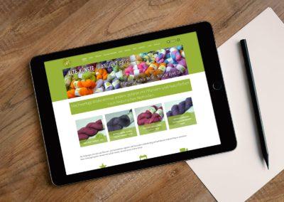 WordPress-Website – Alte Künste