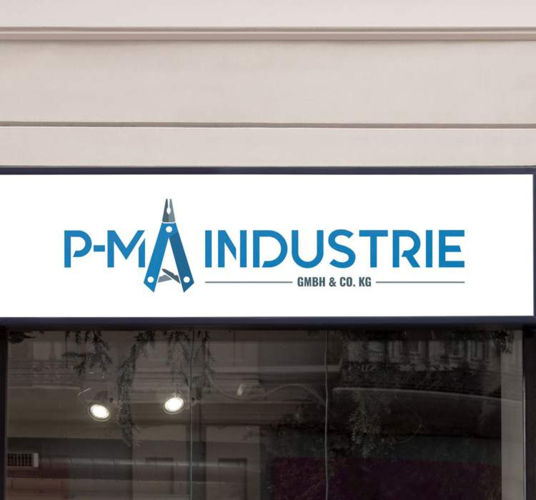 Logo-Design P-MA Industrie