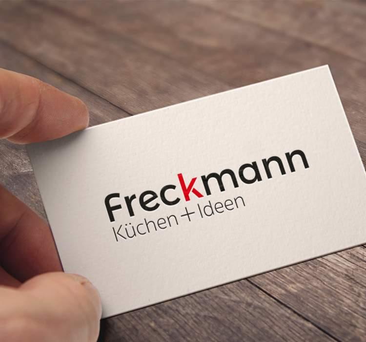 Logo-Relaunch für Küchen Freckmann GmbH & Co KG aus Bad Essen