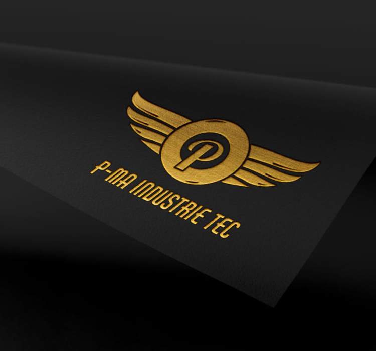 Logo-Design – P-MA Industrie TEC